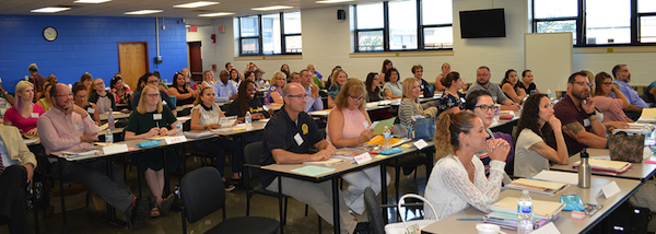 "[PIC] New members of ""Team BOCES"" in Orientation"