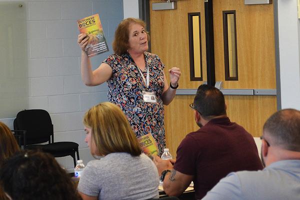 [PIC] Coordinator for Adult Education Liz Hayter