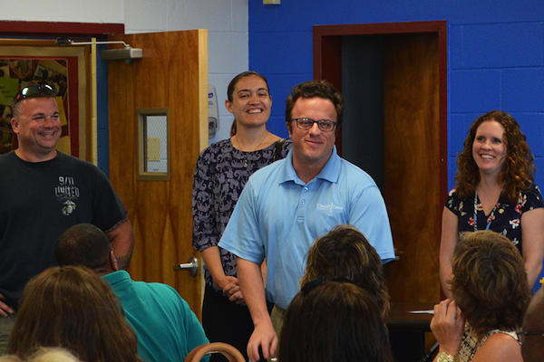 [PiC} New Director of Educational Resources Chris Fiorentino