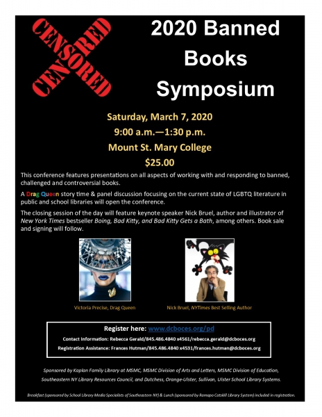 2020 Banned Books Symposium Icon