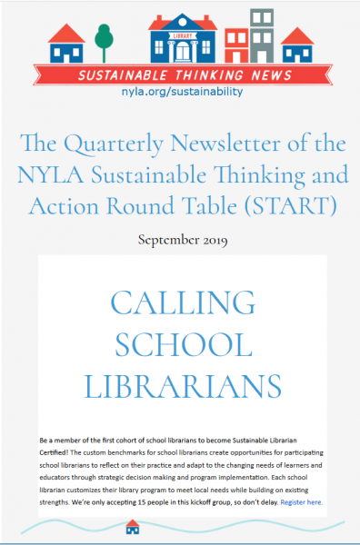 NYLA Sustainable Thinking News