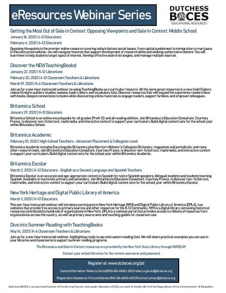 jpeg of eresources webinar series flyer